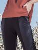 Calça Legging Recorte Lateral PU