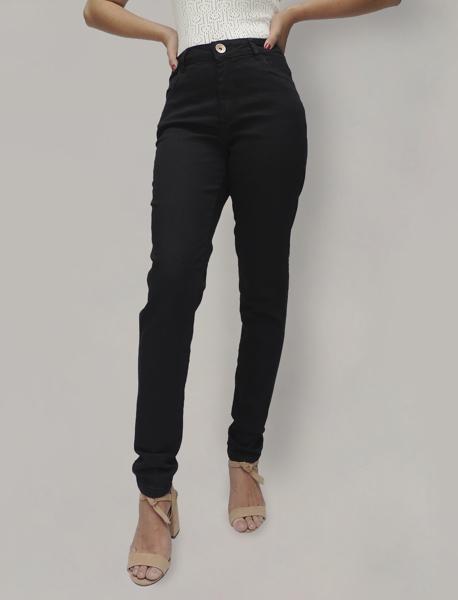 Calça Skinny Black Cintura Alta