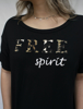 T Shirt Ampla Free Spirit