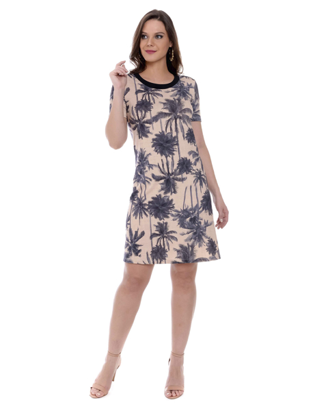 T-SHIRT DRESS COQUEIROS